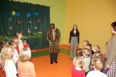 Spotkanie z księdzem z Kamerunu