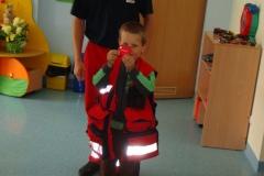 Warsztaty z pierwszej pomocy prowadzone przez ratownika