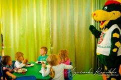 Smok Dino w przedszkolu