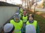 Wizyta na cmentarzu w Zaborowie z okazji 1 listopada